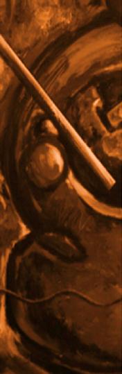 Este conjunto de obras presenta una figura humana incomprensible que refleja mi intento de entender quién es ese ser humano paradójico según se desprende de la historia y lo cotidiano. Otras obras de la misma serie son una especie de fotos instantáneas de una escena con la misma preocupación; de ahí el titulo.